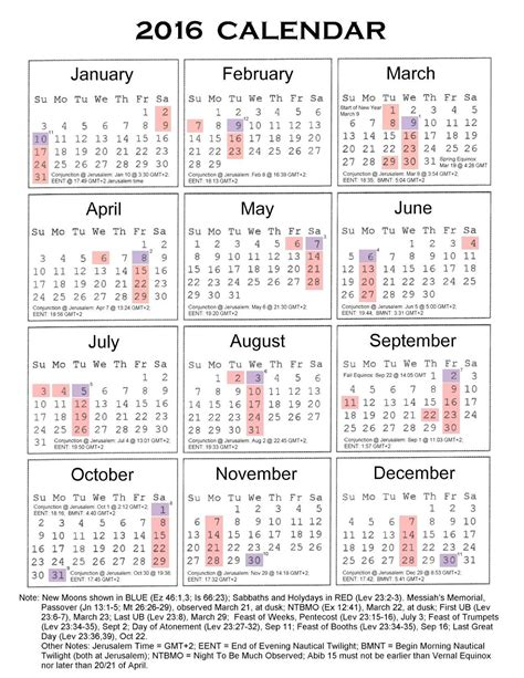 printable calendar 2016 with south african holidays 2016 calendar with federal bank holidays