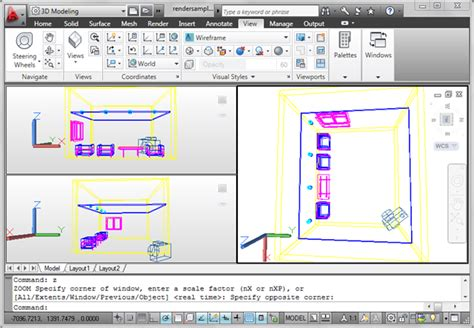 autocad add view layout defining autocad camera cadnotes