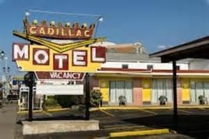 Cadillac Motel Cadillac Motel Near The Falls Niagara Falls Ontario