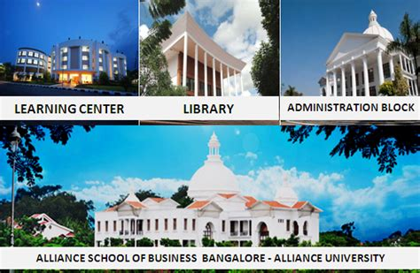 Alliance Bangalore Executive Mba Reviews by Alliance School Of Business Bangalore Alliance