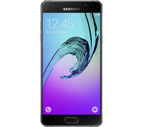 mobile phone samsung buy samsung galaxy j5 16 gb black free delivery currys