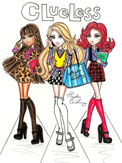 painting bratz 90 s flashback clueless by hayden williams 90 s