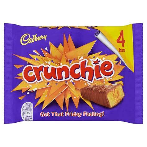 Cadbury Crunchie By Veliff Shop cadburys crunchie 4 pack chocolate multi pack