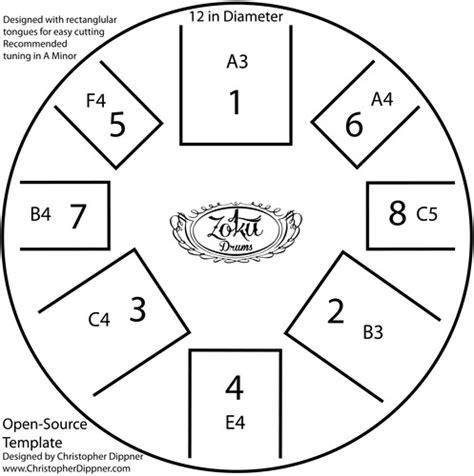 drum pattern chart open source drum template jpg tank tongue templates