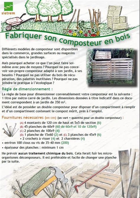 composteur bois 701 fabriquer composteur