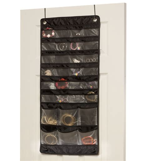 over the door organizer over the door mix and match jewelry organizer in hanging jewelry organizers