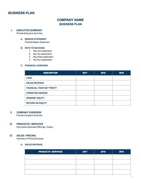 Business Plan Templates Google Docs Business Form Templates Docs Templates For Business
