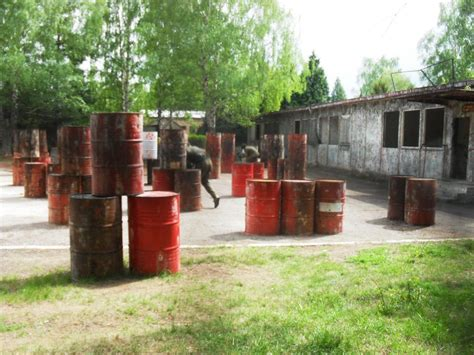 Backyard Paintball Field by Outdoor Paintball