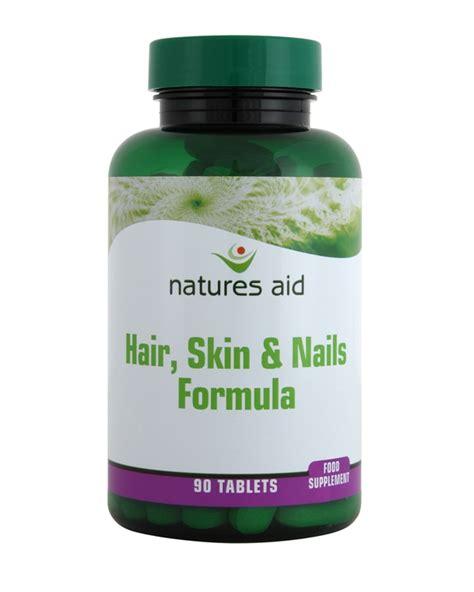 Diskon Wellness Skin Hair Nails Formula 30 Tablets natures aid health and