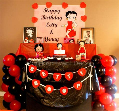 Betty Boop Decorations southern blue celebrations betty boop