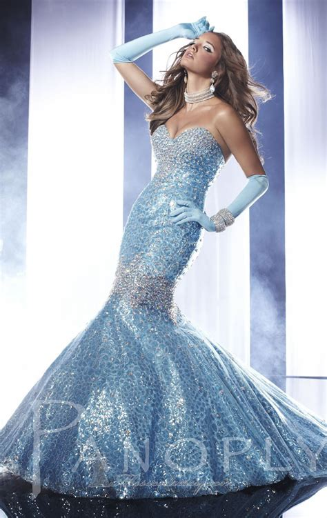 Light Blue Mermaid Dress Panoply 14459 Dress Missesdressy Com