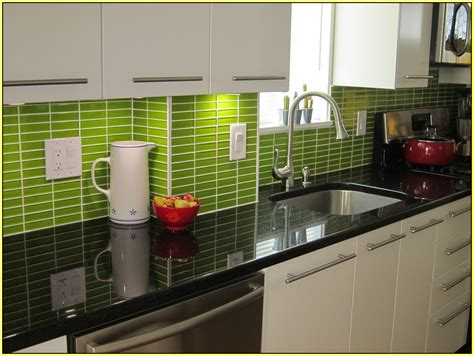 green tile backsplash kitchen green subway tile kitchen backsplash light green glass