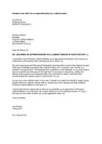 Appointment Letter Format For Apprentice Cover Letter For Apprenticeship Template