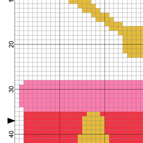 drum pattern chart drum cross stitch pattern daily cross stitch
