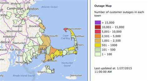 nstar cape cod power outages blizzard of 2015 delivers high wind more snow than