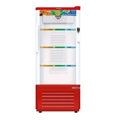 Microwave Sanken jual kulkas showcase sanken srs 188 mr putih merah murah