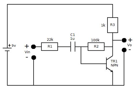 transistor lifier project report simple transistor as an lifier