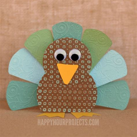 paper turkey craft ideas quot thankful quot paper turkey table decor activity for