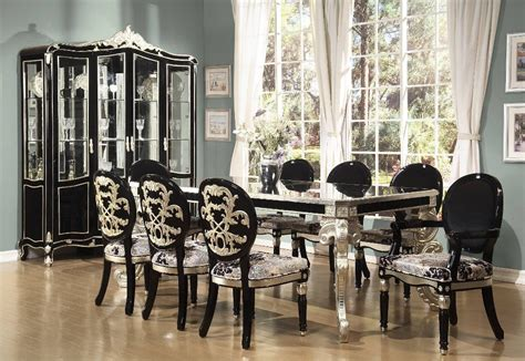 black modern dining room sets contemporary black dining room sets choosing modern