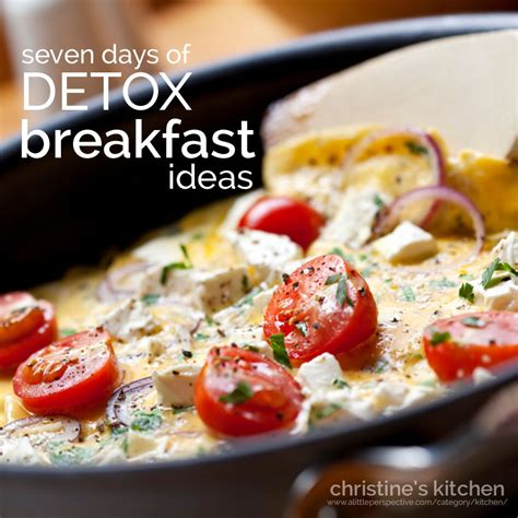 Breakfast On A Detox Diet by Seven Days Of Detox Breakfast Ideas