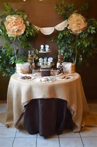 shabby chic wedding shower kara s ideas shabby chic western wedding bridal
