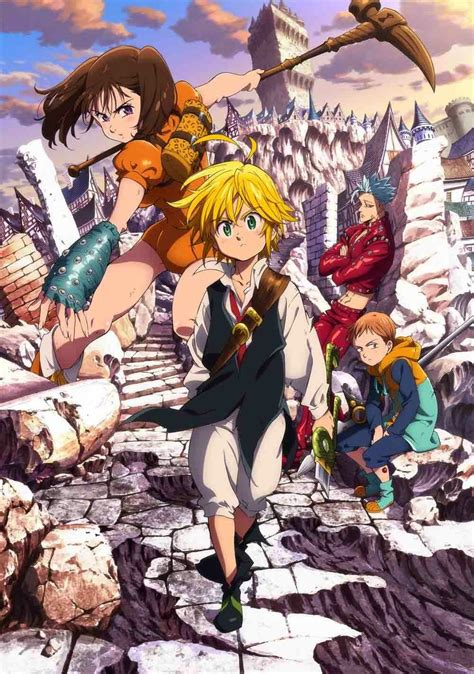 C Anime Season 2 by Nanatsu No Taizai Season 2 Anime Visual