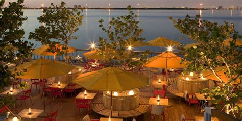world  popular places outdoor restaurant bar  miami