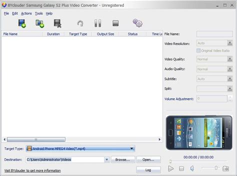 byclouder samsung galaxy   video converter