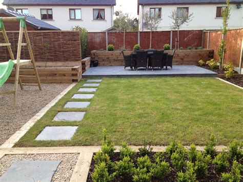 Family Garden And Landscaping Low Maintenance Family New Build Garden Ideas