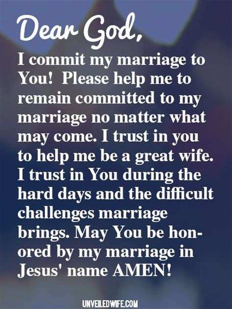 Commitment Letter Husband prayer staying committed in marriage prayer marriage