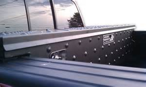 Truck Bed Covers With Low Profile Tool Box Truck Tool Boxes From Highway Products Inc Tool Storage