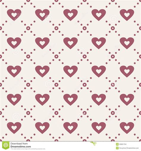 seamless pattern with hearts abstract seamless pattern with hearts stock images image