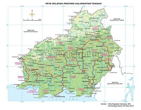 Atlas Tematik Provinsi Papua peta provinsi kalimantan tengah kalteng wallpaper