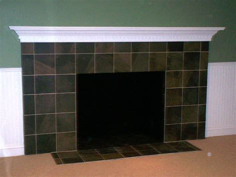 ceramic tile fireplace pictures and ideas