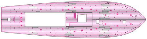 pt boat deck layout pt boat laser cut deck