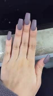 Matte acrylic nails hair and nails pinterest matte acrylic