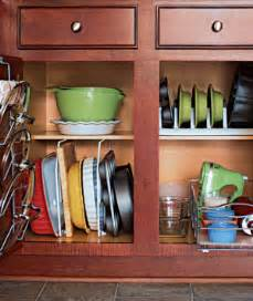 Kitchen Cabinet Organizing Ideas by 10 Creative Ideas To Organize Baking Dishes Storage On