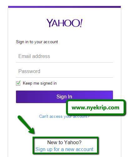 membuat account yahoo lewat hp cara membuat e mail dan cara mengirim e mail lewat gmail