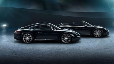 boxster porsche black porsche 911 carrera and boxster get black edition join