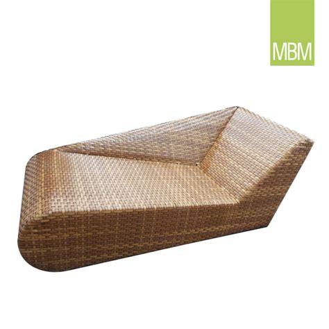 Lounge Relaxliege Mbm In Rattan Optik Gartentraum De