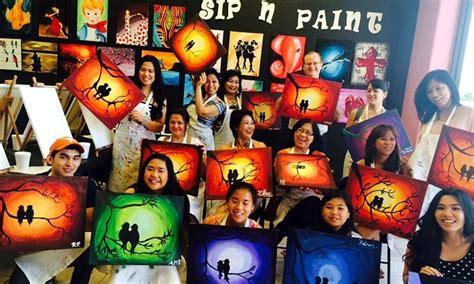 groupon paint nite byob byob painting class valley sip n paint groupon