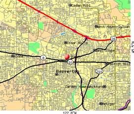 beaverton oregon zip code map 97005 zip code beaverton oregon profile homes