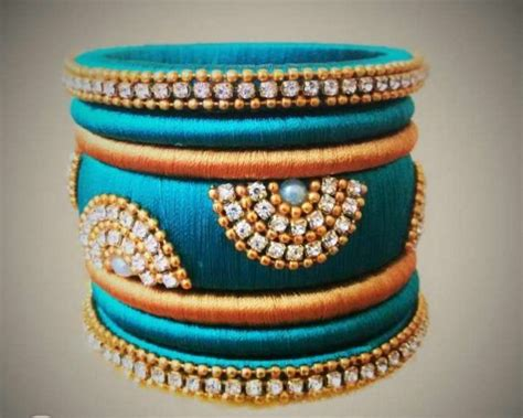 Handmade Threads - 15 beautiful handmade bangles designs sheideas