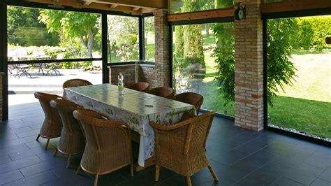 chiudere una veranda come arredare una veranda