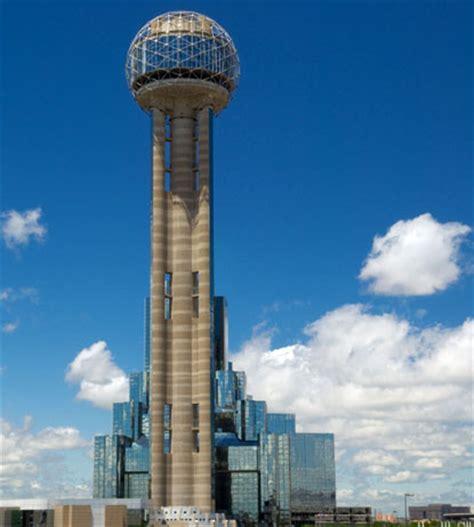reunion tower dallas skyline reunion tower restaurant