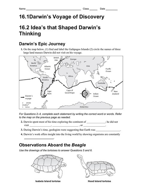 heretic one scientist s journey from darwin to design books 16 1darwin s voyage of discovery 16 2 idea s that shaped