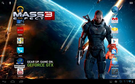 game wallpaper for tablet bioware gives mass effect 3 live wallpaper to tegra