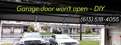 Overhead Door Won T Open 11 Most Common Reasons Why Your Garage Door Wont Open