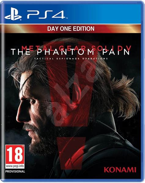 metal gear solid ps4 console metal gear solid 5 the phantom day one edition ps4