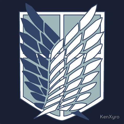 Survey Corps Anime shingeki no kyojin attack on titan survey corps logo